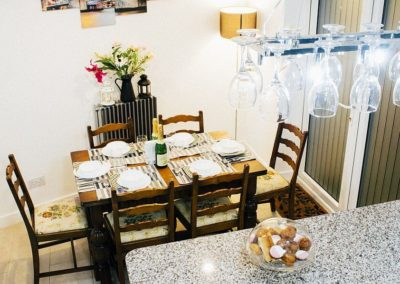 Grenville Holiday Home To Let London Dining Area 2B