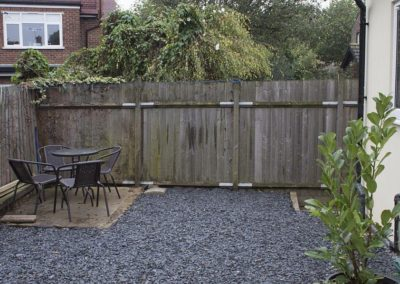 Grenville Holiday Home To Let London Rear Garden 1B